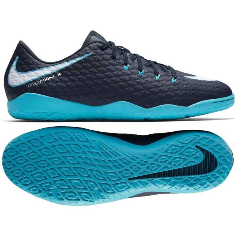 Indoorschoenen Nike HypervenomX Phelon Iii Ic marine veelkleurig