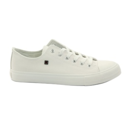 Wit Sneakers sneakers voor Big star schoenveter