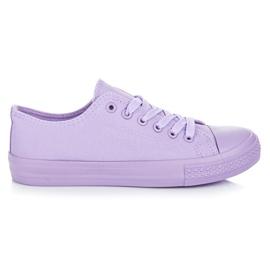 Seastar Paarse sneakers purper