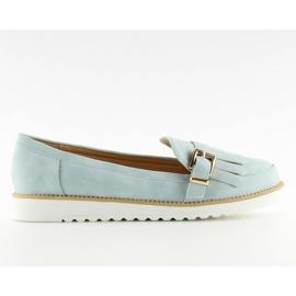Dames loafers blauw 7210 Blauw