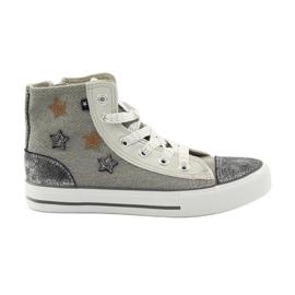Big Star grijs Sneakers gebonden in grote ster 374068
