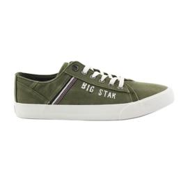 Groen Big star sneakers 174315 kaki sneakers