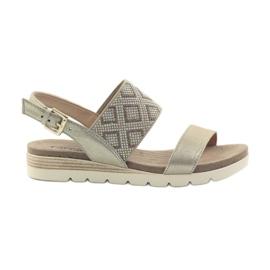 Caprice sandalen damesschoenen 28604 geel