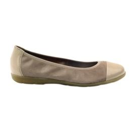 Caprice damesschoenen ballerina's 22152 leer bruin