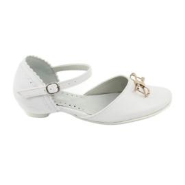 Hoffelijkheid ballerina schoenen Miko 707 wit