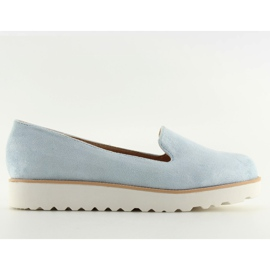 Loafers lordsy blue T309P Blauw