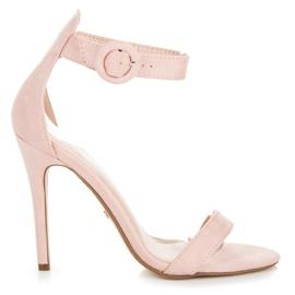 Seastar roze Sandalen bevestigd met een gesp