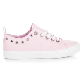 Seastar Decoratieve roze sneakers