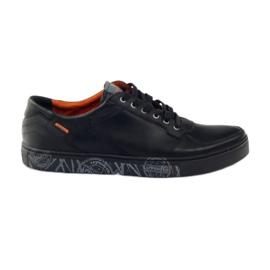 Herensportschoenen Badura 3361 zwart