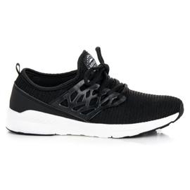 Ax Boxing zwart Slip-on stoffen schoenen