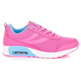 Ax Boxing roze Modieuze sportschoenen