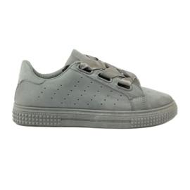 McKey Creepersy schoenen vastgebonden met een grijs lint