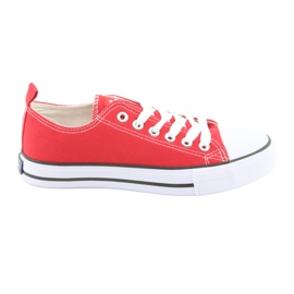American Club rode sneakers rood