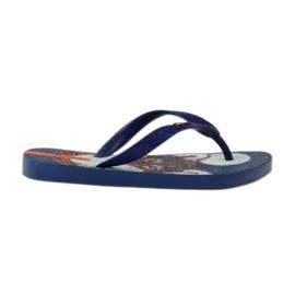Slippers met Ipanema wolf marineblauw