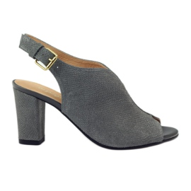 ESPINTO 248 grijze cobra sandalen