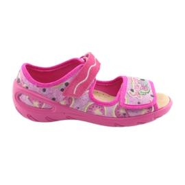 Befado roze Overweldig kinderschoenen pu 433X030