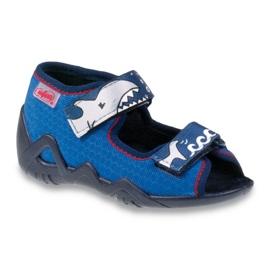 Blauw Befado kinderschoenen 250P069