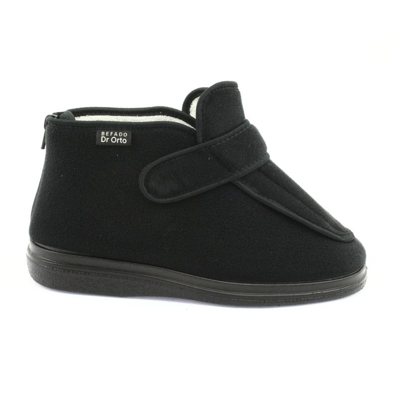 Befado Zie schoenen voor dames pu orto 987D002 zwart