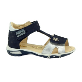 Velcro sandalen Bartuś 138 marine blauw