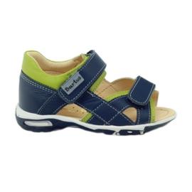 Klittenband sandalen Bartuś 137 marine blauw