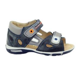 Klittenband sandalen Bartuś 119 donkergrijs