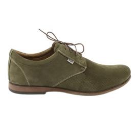 Groen Riko heren casual schoenen 777D