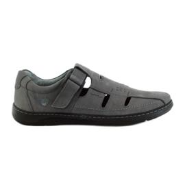 Riko herenschoenen sandalen 851 grijs