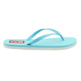 Flip-flops Big Star 274A131 blauw