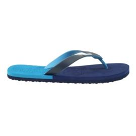 Slippers Big Star 174421 marineblauw