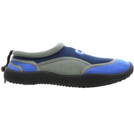 Aqua-Speed Jr. neopreen beachschoenen marine-grijs