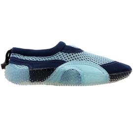 Neopreen strandschoenen Aqua-Speed Jr blauw