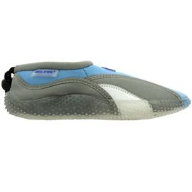 Aqua-Speed Jr. strandschoenen van neopreen grijs