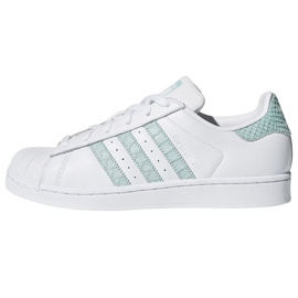 Wit Adidas Originals Superstar schoenen in CG5461