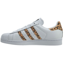 Wit Adidas Originals Superstar schoenen W CQ2514