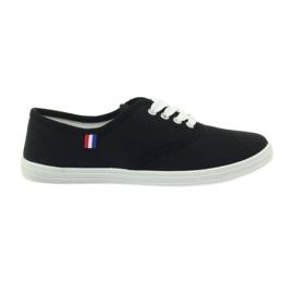 American Club Amerikaanse damessneakers sneakers zwart