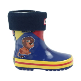American Club Amerikaanse rubberen laarzen voor kinderen met sok binnenzool