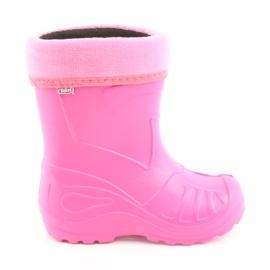 Roze Befado kinderschoenen babyschoenen 162P101