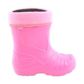 Befado Zie schoenen voor kinderen kalosz-róż 162X101 roze