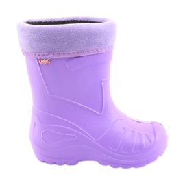 Befado Zie schoenen voor kinderen kalosz-fiolet 162X102 purper