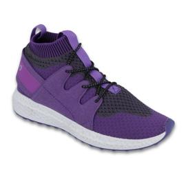 Befado purper Zie schoenen voor kinderen tot 23 cm 516Y031