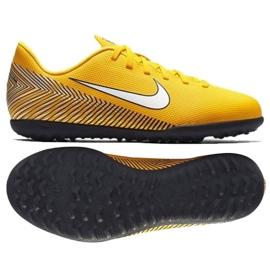 Nike Mercurial Vapor 12 Club voetbalschoenen Neymar Tf Jr AO9478-710