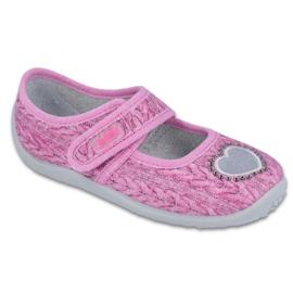 Befado roze Zie schoenen voor kinderen 945X325