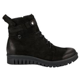 Zwarte laarzen van VINCEZA-werknemers