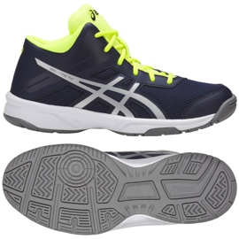 Volleybalschoenen Asics Gel Tactic Mt Gs Jr C732Y-400-400