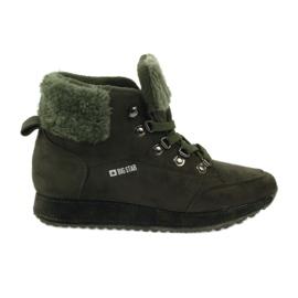 Comfortabele comfortabele schoenen BIG STAR 274665 groen