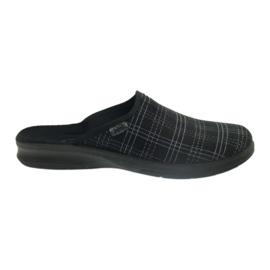 Zwart Befado herenschoenen slippers 548m011 slippers
