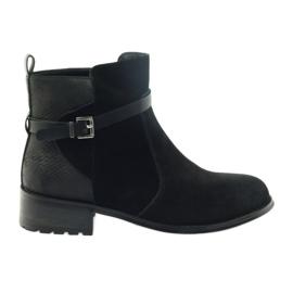 American Club Amerikaanse laarzen winterlaarzen zwart