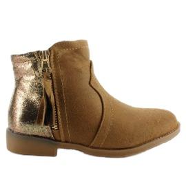 Bruin Boots-confectie-laarzen K1647301 Camel
