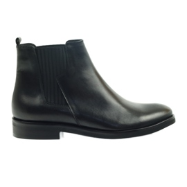 Edeo boots black slip-in 3244 zwart