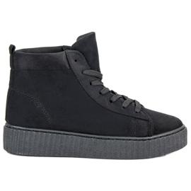 Wilady zwart Sneakers boven de enkel